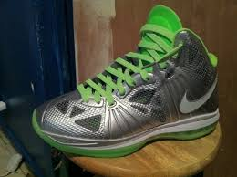 lebron 8 dunkman. nike air max lebron 8 p.s. dunkman cool grey white electric green 441946-002 lebron