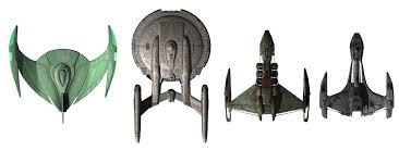 Size Comparison Chart Of A Romulan Bird Of Prey Enterpris