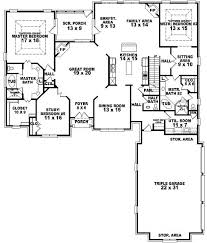 House Plans With Master On Main Bedroom First Floor Master Suite     Bedroom Bath Traditional House Plan   Two for Master Bedroom