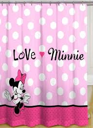 Minnie Mouse Bedroom Curtains Polka Dot Shower Curtain Free Image