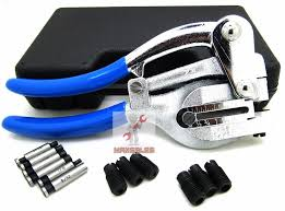 metal hand punch. new power hole punch kit - sheet metal hand tool set heavy duty | ebay