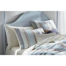 decorative pillow king blue
