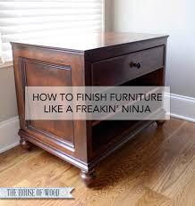 Finishing Tutorial How To Use Glaze and Wood Toner