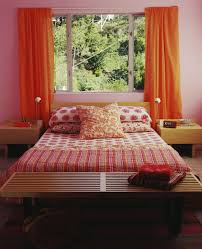 Pink And Orange Bedroom Bold Color Schemes For Bedrooms
