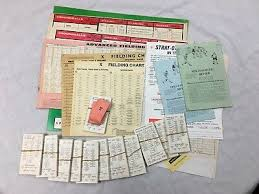 Strat O Matic Baseball Misc Lot Perforated Cards 12 Teams