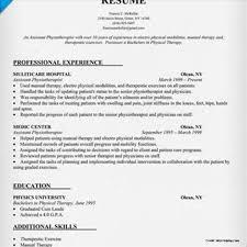 Physiotherapist Resume Sample India Stunning Physiotherapist Resume Sample Canada Images Entry Level 1