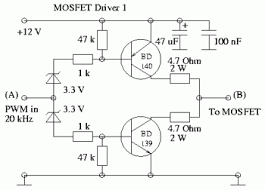 some power pwm drivers for electric dc motors 9 mosfet driver 1