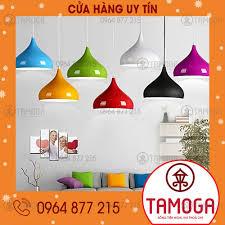 Đèn thả trần, đèn led thả trần trang trí bàn ăn phòng khách hình giọt nước  TAMOGA đường kính 320mm DT 8010