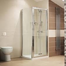 Lumin8 Bi Fold Door Shower Enclosure| Roman Showers