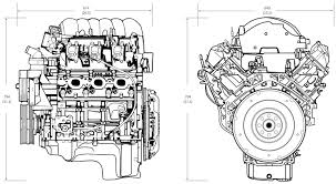 Engine Dimensions Chart 4 3l Lv1 V 6 Aluminum Block Engine