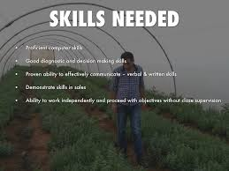agronomist by keishon brown education