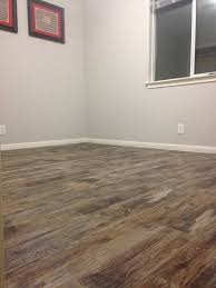 first pic is pre purchase second and third are post flooring pre shoe molding