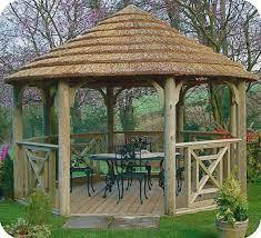 garden hut. 3.7m Gazebo Garden Hut T
