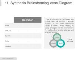 Venn Diagram Image Download 11 Synthesis Brainstorming Venn Diagram Ppt Powerpoint