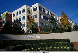 microsoft office redmond wa. Microsoft Corporation Campus Redmond Washington USA - Stock Image Office Wa U