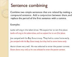 Simple and Compound sentences. Simple sentence Definition: A very ...