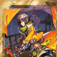 ArtStation - Carmen of gladius (Million Arthur EX) The back of the card ,  Sung Yul Lee