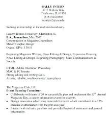 Intern Resume Template Internship Resume Template Word Example ...