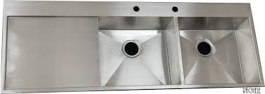 sink drain board stainless steel double bowl sink with integral drain board drainboard sink canada