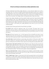 Do College Application Essays Need Mla Format Essay Example