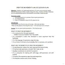 sample lesson plan outline sample lesson plan template creative moment music example simple