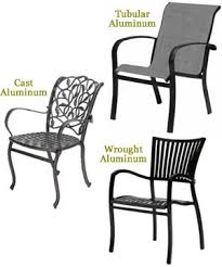 Aluminum Outdoor Furniture and Patio Furniture