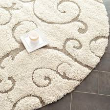 7 ft round area rug fresh 36 round rug
