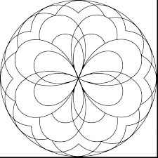 Appealing Easy Flower Coloring Pages Easy Flower Coloring Pages Free