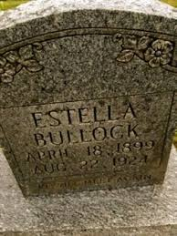 Estella Francis Harper Bullock (1898-1924) - Find A Grave Memorial