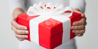 Image result for white and red parcel gift for the family