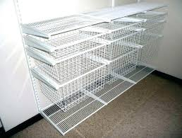 wire closet drawers wire closet shelves white wire closet shelving for home design ideas more wire wire closet
