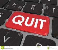 quit word computer keyboard key button impulse career job change quit word computer keyboard key button impulse career job change