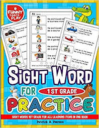 sight word 1st grade sight words 1st grade for all learning items in one book sight
