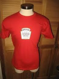 Details About Brine Lacross Red T Shirt L Nwot