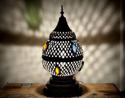 Tafellamp Marokkaanse Staande Lamp Koperen Bruiloft Lichte Stijl