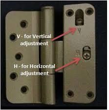 exterior door hinge types. 815-adjustment exterior door hinge types