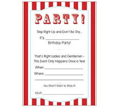 Free Printable Circus Party Invitations Breckens Birthday