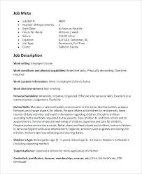 applying for nanny jobs nanny responsibilities on resume nanny duties and responsibilities