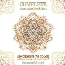 Ornamental Designs Photo Book Amazon Com Complete Concentration 250 Designs To Colour A