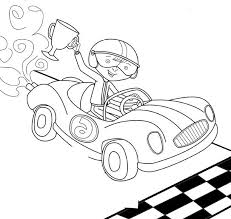 Small Picture Boy Winner Track Racing Coloring Page Race Car car coloring