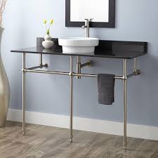popular bathroom sink metal legs home design double console ideas with naitoyuki bathroom sink metal legs bathroom console sink metal legs bathroom sink