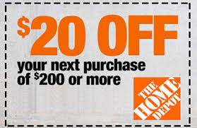 Image result for home depot coupon