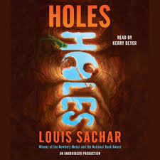 holes audiobook by louis sachar