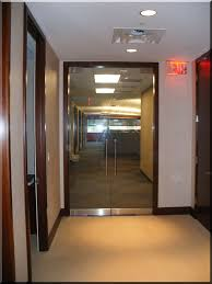 office doors with glass. Executive Office Shower With Sliding Obscure Glass For Privacy Doors