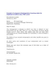 Formal Resignation Letter Format Copy Resignation Letter Format Doc ...