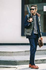 How To Wear A Puffer Vest: 4 Ways To Style A Down Vest   Men's Fashion & Consider teaming an olive green quilted gilet with a dark blue suit to ooze  class and Adamdwight.com