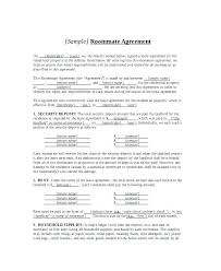 House Rules For Roommates Template Roommate Lease Agreement Template House Rules For Roommates