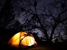 camping in the woods at night. Contemporary Woods Nighttime Tent Illumination Can Be Generated By The Sun During Day Inside Camping In The Woods At Night T