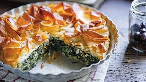 the dinner las spinach fetta and ricotta pie