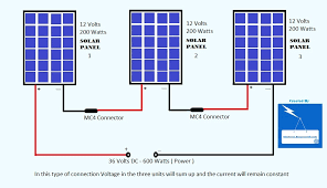 how to connect solar panels in series electrical bazaar on web 16 2015 how to connect solar panels in series